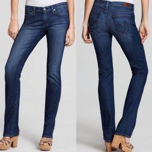 AG Blue The Charlotte Straight Leg Jeans 29